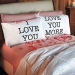 Love You & Love You More Pillowcases: V-day Gift