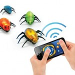 Bluetooth Wireless Control Smart InsectDroids Toy for iPhone/ iPod touch / iPad (Red)
